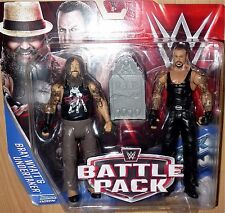 BRAY WYATT UNDERTAKER WWE Mattel Battle Pack 38 Wrestling Action Figures DMG PKG