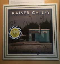 KAISER CHIEFS DUCK LIMITED TRI-COLOURED LEEDS EDT VINYL ALBUM SIGNED + A PROOF
