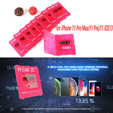 R-SIM15 Karte Unlock RSIM Card für iPhone 11 Pro Max / 11 Pro / 11 iOS13 System