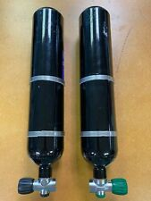 Faber 3L Hp Steel Scuba Cylinders Rebreather Tanks with rEvo mounts