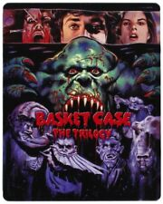 Basket Case Trilogy (Blu-ray, 2012, 3-Disc Steelbook) (Brand New, Sealed)