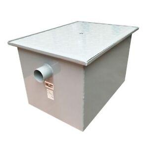 Outdoor External/Underground Grease Trap Fat Oil Separator Wastewater Restaurant