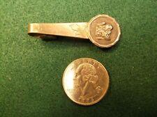 Clip Bar - Greek Or Roman Head Rare Vtg Antique Art Nouveau Sterling Silver Tie