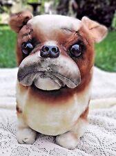 Vintage 1969 Kamar Japan Stuffed English Bulldog