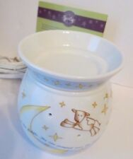 """NEW~ AUTHENTIC SCENTSY ~ """"OVER THE MOON"""" ~ MID SIZE ~ ELECTRIC WAX WARMER ~NIB"""