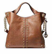 Michael Kors Bag Handbag Uptown Astor LG Shldr Tote Bag Leather Walnut New