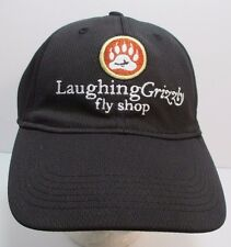 LaughingGrizzly Fly Shop Hat Cap Fitted Lg Longmont Colorado USA Embroidery New