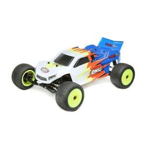 Losi 1/18 Mini-T 2.0 2WD Stadium Truck RTR (Blue / White) - LOS01015T2