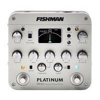 Fishman Platinum Pro EQ PRO-PLT-201 Acoustic Guitar Analog PreAmp