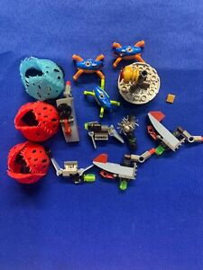 LOT OF OFFICIAL LEGO Assorted Hero Factory Jumpers & Accessories #44025 & #44023