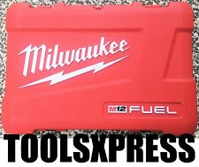MILWAUKEE FUEL M12  2 TOOL CASE  FOR M12CPD DRILL & M12CID  IMPACT DRIVER