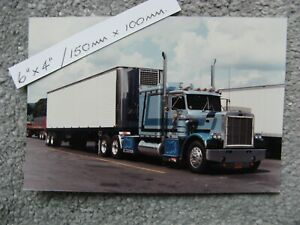 "6X4"" 150X100mm CLASSIC PETERBILT 359 DOUBLE EAGLE TRUCK TRUCKING PHOTO"