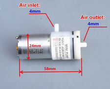 DC 3V-5V Micro Self-priming Breast Pump 370 Air Vacuum Pump Silent Booster pump