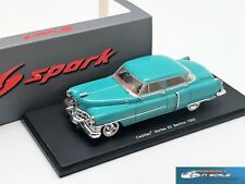 Cadillac Series 62 Berline 1950 Blue Spark S2923  resin 1:43