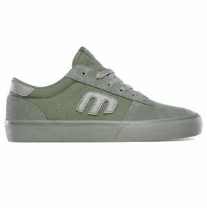Etnies Calli Vulc Green Womens Skateboard Shoes