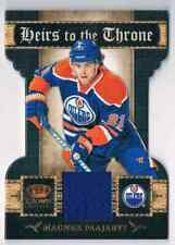 2011-12 PANINI CROWN ROYALE HEIRS TO THE THRONE MAGNUS PAAJARVI JERSEY 1 COLOR