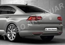 VW Passat B8 Fits 2014-2017 Chrome Exhaust Deflector Frame 2pcs Stainless Steel