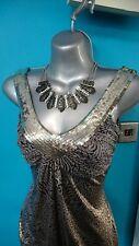 Jane Norman dress top 12 bodycon wedding christmas party evening jumper   sequin