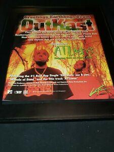 Outkast Atliens Rare Original Promo Poster Ad Framed!