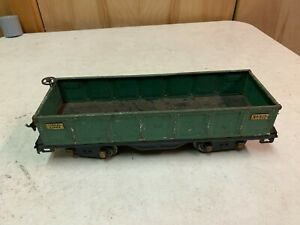 Lionel Standard Gauge - 512 Green Gondola Issues B