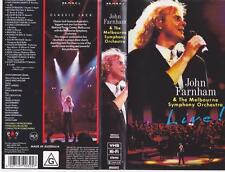 JOHN FARNHAM AND THE MELBOURNE SYMPHONY ORCHESTRA VIDEO  PAL VHS~  RARE
