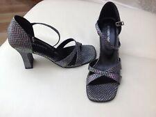 Ladies Roberto Vianni Snake Skin Design Sandals Size:.38
