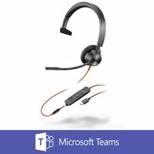 Plantronics Blackwire 3315 BW3315-M Mono USB-C Headset with 3.5mm Connection NEW