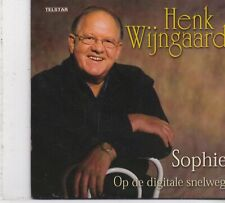 Henk Wijngaard-Sophie cd single