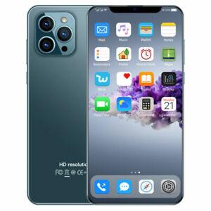 "4+64GB Mobile Phone Pro Max 7.2"" ID Fingerprint Smartphone 5600mah Android10"