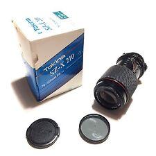 Tokina SZ-X 70-210mm Zoom w/Macro f4-5.6 MF Minolta M/MD Mount Lens With Filter