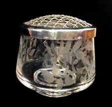 Vintage Original Etched Crystal Crystal & Cut Glass