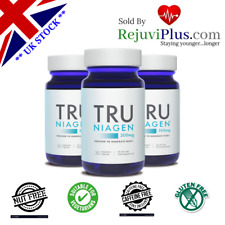 NEW Tru Niagen® Nicotinamide Riboside 30 x 300mg per bottle 3 Mths Supply!
