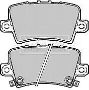 Borg & Beck BBP1947 Rear Brake Pad Set for HONDA CIVIC TYPE R TYPE S
