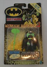 "2002 DC COMICS BATMAN MISSION MASTERS 4 ""BATTLE STAFF"" GLOW DARK FIGURE MIP"