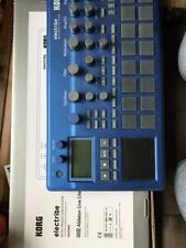 electribe KORG 2 music instrument equipment DTM DAW box blue sequencer used