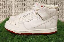 Nike SB Zoom Dunk High Pro QS AH9613 116 White Red MEN 10