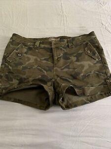 Torrid Camo Military Short 20 NWOT Camouflage