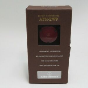 Audio Technica ATH-EW9 Portable Wooden Headphones from Japan New
