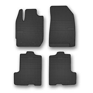 Fußmatten für Dacia Sandero 1 2008-2012 Gummi Gummimatten