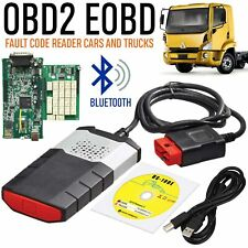 R3 CDP + VCI OBD2 Car Diagnostic Tool Scanning Apparatus Bluetooth For Software