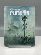 Platoon Limited Edition Steelbook (Blu-ray Disc, 2018) Factory Sealed Sold Out!
