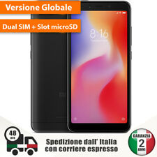 Xiaomi Redmi 6A Global Version Dual Sim 2 + 1 Slot 4G Cellulare Smartphone 13MP