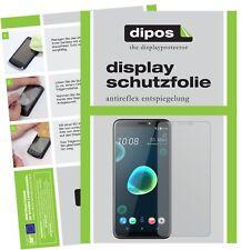2x HTC Desire 12 Schutzfolie matt Displayschutzfolie Folie Display Schutz dipos