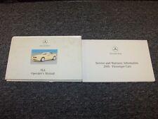 2001 Mercedes Benz SLK230 Kompressor SLK320 Owner Owner's Operator Manual Set
