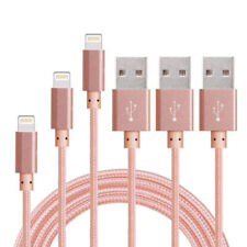 3 Pack 3 FT Pink Bundle Lighting Cable Cord Charger For Apple iPhone X 8 + 7 S