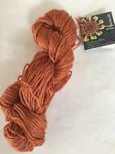 Mirasol Nuna - 1 hank - 1039 Orange Rust - Wool/Silk/Bamboo Viscose