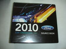 2010 Ford Dealer Car SUV Product Facts Source Book Mustang Shelby GT500 Binder