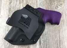 OWB PADDLE Holster Ruger LCR Kydex Retention SDH Swift Draw