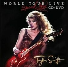 Speak Now World Tour Live 0602527885223 by Taylor Swift CD With DVD