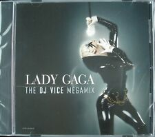 "LADY GAGA ""THE DJ VICE MEGAMIX"" 2008 HTF DJ PROMO CD SINGLE ""THE FAME"" *SEALED*"